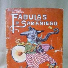 Libri di seconda mano: CUENTO, FABULAS DE SAMANIEGO, III, CUENTOS EN COLORES, ASHA, SOPENA. Lote 25410724