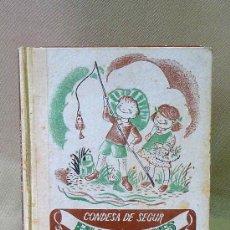 Libros de segunda mano: CUENTO, LA CONDESA DE SEGUR EN VACACIONES, AGUILAR, LECTURAS JUVENILES, 1956, NOVELAS PARA NIÑAS. Lote 26040225