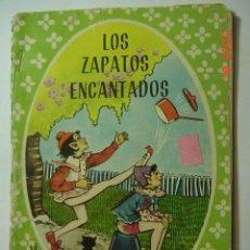 Libros de segunda mano: COL MARUJITA - CUENTO INFANTIL : LOS ZAPATOS ENCANTADOS Y OTROS - EDIT MOLINO AÑO 1964. Lote 26228295