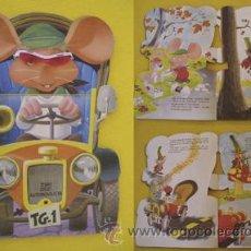 Libros de segunda mano: CUENTO TROQUELADO : TOPO GIGIO AUTOMOVILISTA. 1967. NINA (TEXTO), GIN Y RAF (ILUSTRACIONES). Lote 26413911