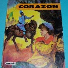 Libros de segunda mano: CORAZÓN. EDMUNDO DE AMICIS. ILUSTRACIONES F. SAEZ. COLECCIÓN AMBAR ( L13 ). Lote 26516958
