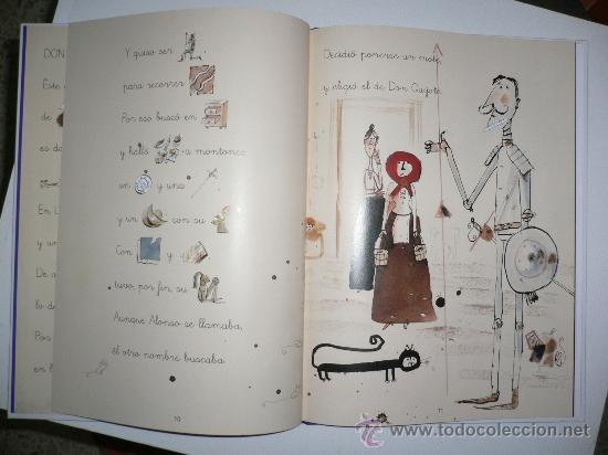 Libros de segunda mano: DON QUIJOTE DE LA MANCHA LIBRO CON PICTOGRAMAS - Foto 3 - 26628037