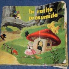 Libros de segunda mano: CUENTO DE LA RATITA PRESUMIDA , EDICIONES SUSAETA , S.A DEL AÑO 1973 .. Lote 26807666