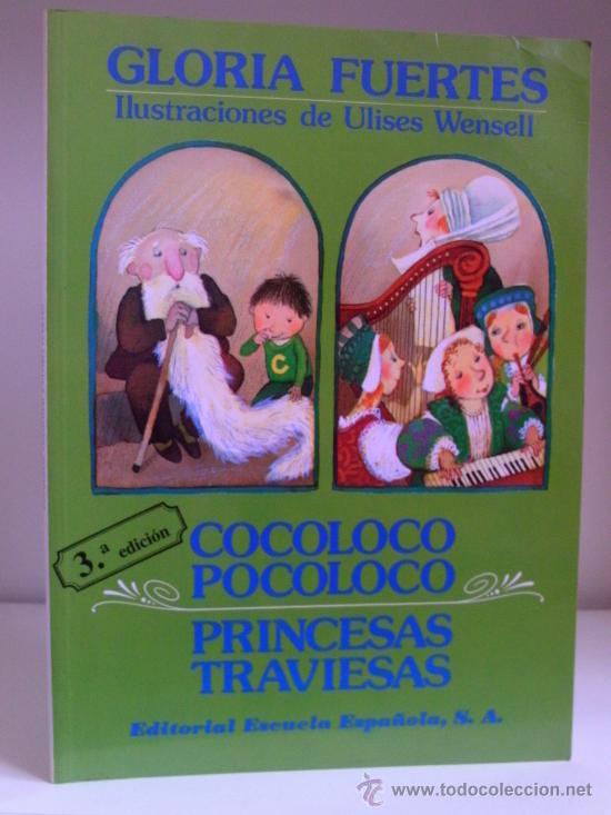 GLORIA FUERTES - COCOLOCO POCOLOCO / PRINCESAS TRAVIESAS - GRAN FORMATO - MUY ILUSTRADO - ESCASO (Libros de Segunda Mano - Literatura Infantil y Juvenil - Cuentos)