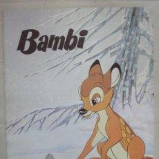 Libros de segunda mano: CUENTO BAMBY DE MAVES AÑO 1981 DISNEY. Lote 26983108