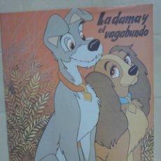 Libros de segunda mano: CUENTO LA DAMA Y EL VAGABUNDO DE MAVES AÑO 1981 DISNEY. Lote 26983269