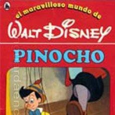 Libros de segunda mano: CUENTO PINOCHO Nº 1 DE LA COLECCIÓN, EL MARAVILLOSO MUNDO DE WALT DISNEY 2ª EDICIÓN BRUGUERA 1986. Lote 27399626