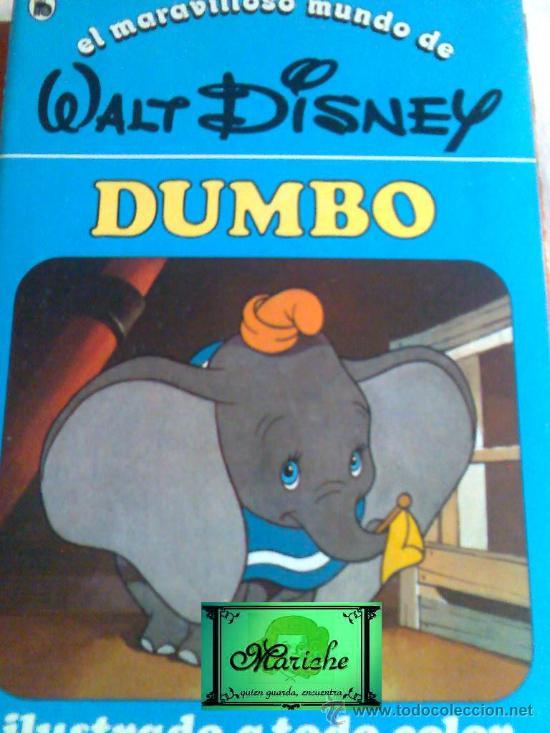CUENTO DUMBO Nº 3 DE LA COLECCIÓN, EL MARAVILLOSO MUNDO DE WALT DISNEY 2ª EDICIÓN BRUGUERA 1986 (Libros de Segunda Mano - Literatura Infantil y Juvenil - Cuentos)