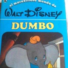 Libros de segunda mano: CUENTO DUMBO Nº 3 DE LA COLECCIÓN, EL MARAVILLOSO MUNDO DE WALT DISNEY 2ª EDICIÓN BRUGUERA 1986. Lote 83864983