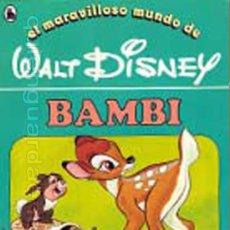 Libros de segunda mano: CUENTO BAMBI Nº 7 DE LA COLECCIÓN, EL MARAVILLOSO MUNDO DE WALT DISNEY 2ª EDICIÓN BRUGUERA 1986. Lote 30015128