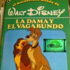 Libros de segunda mano: CUENTO LA DAMA Y EL VAGABUNDO Nº 10 DE LA COL. EL MARAVILLOSO MUNDO DE WALT DISNEY BRUGUERA 1986. Lote 27400164