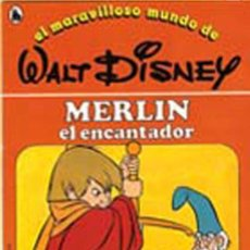 Libros de segunda mano: CUENTO MERLÍN EL ENCANTADOR Nº12 COLECCIÓN, EL MARAVILLOSO MUNDO DE WALT DISNEY BRUGUERA 1986. Lote 27403639