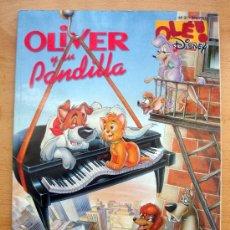 Libros de segunda mano: LIBRO DE LA PELÍCULA DE DISNEY OLIVER Y SU PANDILLA, COLECCIÓN OLE! Nº 31. GRUPO Z 1997. Lote 150281573