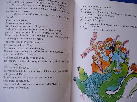 Libros de segunda mano: EL DRAGON TRAGON - GLORIA FUERTES - E. ESCUELA ESPAÑOLA 1979 - - Foto 5 - 28020110
