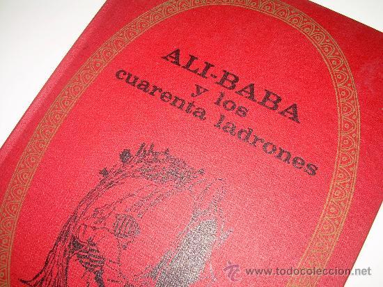 Libros de segunda mano: ALI - BABA Y LOS CUARENTA LADRONES......EDITORIAL BRUGUERA...1970 - Foto 3 - 28058437