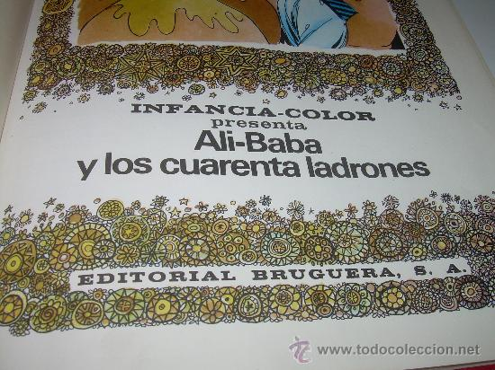 Libros de segunda mano: ALI - BABA Y LOS CUARENTA LADRONES......EDITORIAL BRUGUERA...1970 - Foto 4 - 28058437