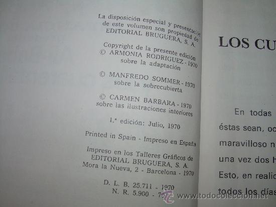 Libros de segunda mano: ALI - BABA Y LOS CUARENTA LADRONES......EDITORIAL BRUGUERA...1970 - Foto 6 - 28058437