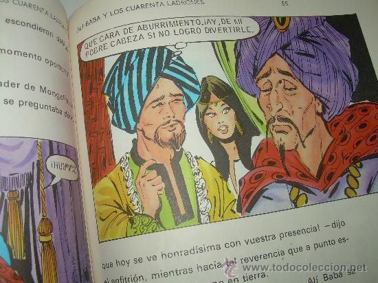 Libros de segunda mano: ALI - BABA Y LOS CUARENTA LADRONES......EDITORIAL BRUGUERA...1970 - Foto 7 - 28058437
