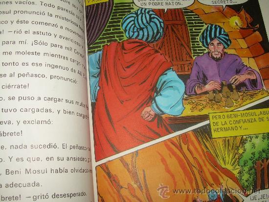 Libros de segunda mano: ALI - BABA Y LOS CUARENTA LADRONES......EDITORIAL BRUGUERA...1970 - Foto 8 - 28058437