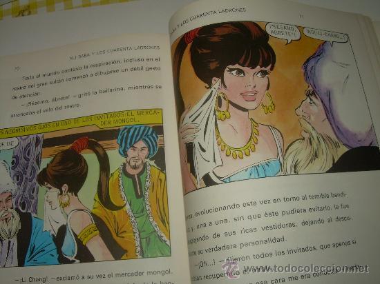 Libros de segunda mano: ALI - BABA Y LOS CUARENTA LADRONES......EDITORIAL BRUGUERA...1970 - Foto 9 - 28058437