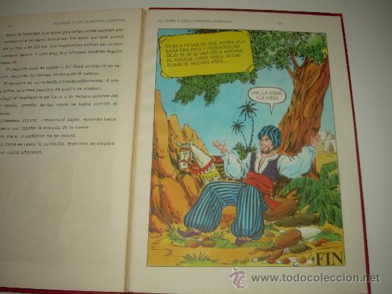 Libros de segunda mano: ALI - BABA Y LOS CUARENTA LADRONES......EDITORIAL BRUGUERA...1970 - Foto 11 - 28058437