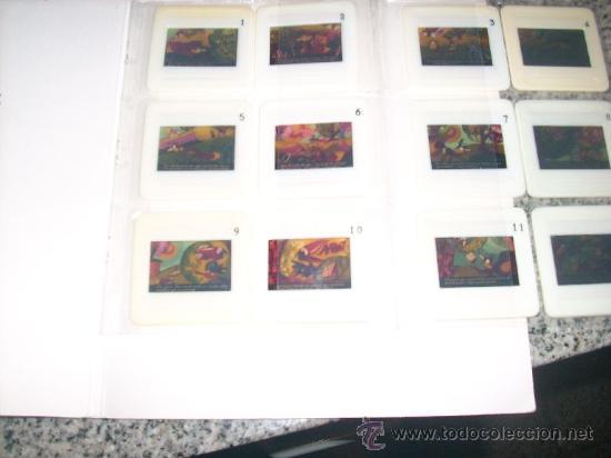 Libros de segunda mano: CUENTOS INFANTILES EN 12 DIAPOSITIVAS COLOR (El zorro, las uvas y el cuervo) Brittannico - Argentina - Foto 2 - 28176478