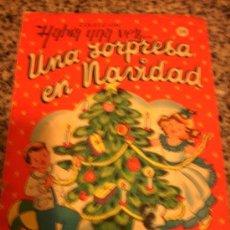 Libros de segunda mano: UNA SORPRESA EN NAVIDAD, DE ANDERSEN - DIBUJOS DE CHIKIE - EDITORIAL SIGMAR - ARGENTINA - 1964 RARO!. Lote 28207460