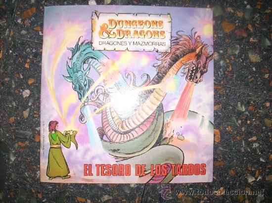 EL TESORO DE LOS TARDOS - SERIE DRAGONES Y MAZMORRAS - LIBROS DISTEIN - ESPAÑA - 1985 (Libros de Segunda Mano - Literatura Infantil y Juvenil - Cuentos)