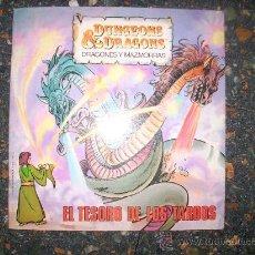 Libros de segunda mano: EL TESORO DE LOS TARDOS - SERIE DRAGONES Y MAZMORRAS - LIBROS DISTEIN - ESPAÑA - 1985. Lote 28629491