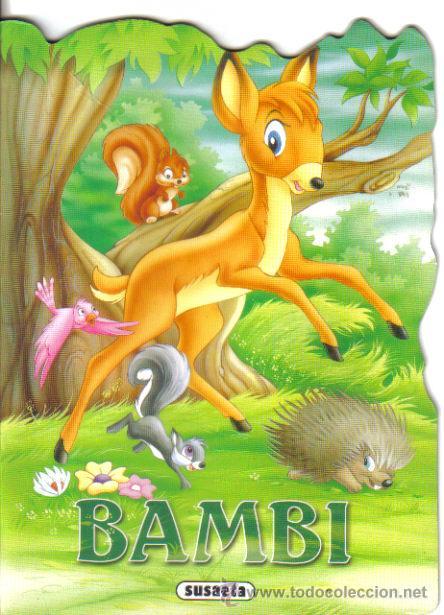 BAMBI. CUENTO TROQUELADO. SUSAETA. LITERACOMIC. (Libros de Segunda Mano - Literatura Infantil y Juvenil - Cuentos)