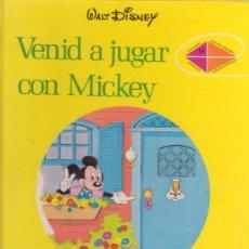 Libros de segunda mano: VENID A JUGAR CON MICKEY. WALT DISNEY. COLECCIÓN DIBUJOS ANIMADOS 14. EDITORIAL MOLINO. AÑO 1973.. Lote 28969242