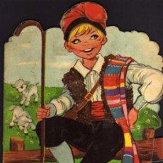 Libros de segunda mano: CUENTO TROQUELADO - EL PASTOR MENTIROSO - MARIA PASCUAL - TORAY - 1968. Lote 29181829