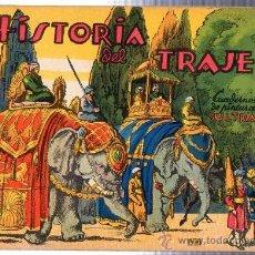 Libros de segunda mano: HISTORIA DEL TRAJE, CUADERNOS DE PINTURA ULTRA, EDICIONES ULTRA, BARCELONA, . Lote 29223459