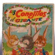 Libros de segunda mano: LOS CONEJITOS Y EL GIGANTE, EDITORIAL FHER, ESPAÑA. Lote 29223505