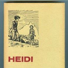 Libros de segunda mano: HEIDI (JUANA SPYRI) 1966. Lote 29241890