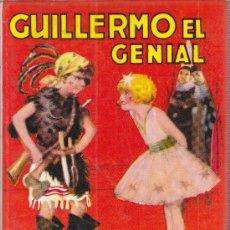 Libros de segunda mano: GUILLERMO EL GENIAL POR RICHARD CROMPTON MI HEROE EDITORIAL MOLINO 1979. Lote 29269657