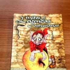 Libros de segunda mano: MITOS Y LEYENDAS ASTURIANAS. Lote 29392719