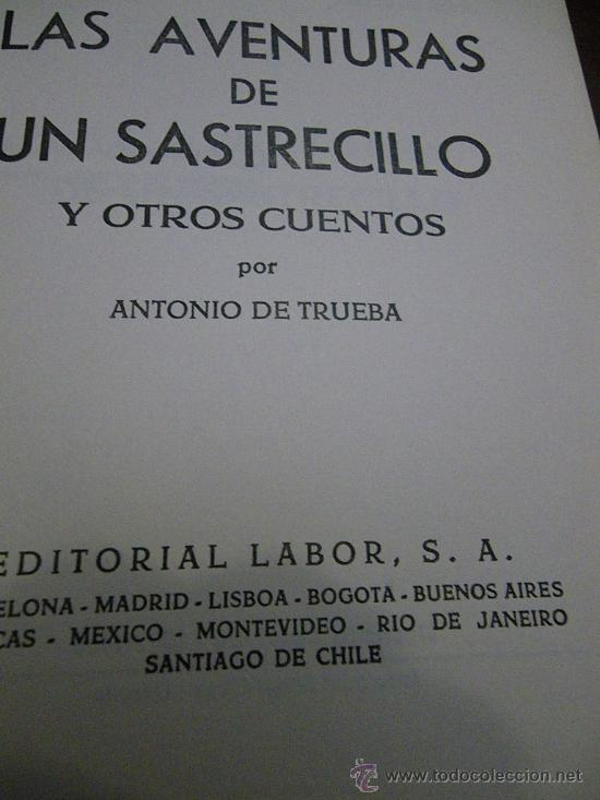 Libros de segunda mano: Cuentos para niños de Editorial Labor. Años 60. - Foto 2 - 29535686