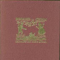 Libros de segunda mano: RODALLES DE GRIM TRADUIDES PER CARLES RIBA. Lote 29716309