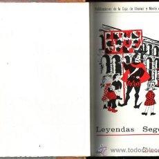 Libros de segunda mano: LEYENDAS SEGOVIANAS CONTADAS A LOS NIÑOS. Mª DEL CARMEN DÍAZ GARRIDO. DIB. ADOLFO CRISTOBAL GESTI.. Lote 29816480