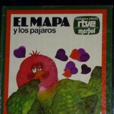 Libros de segunda mano: EL MAPA Y LOS PAJAROS,1977,BIBLIOTECA INFANTIL DE RTVE. Lote 29867483