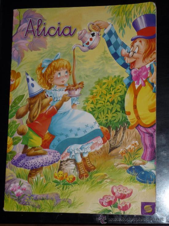 ALICIA,COLECCION ARLEQUIN,EDIT SUSAETA (Libros de Segunda Mano - Literatura Infantil y Juvenil - Cuentos)