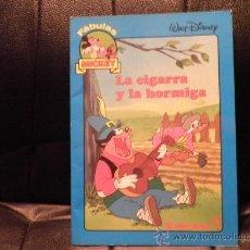 Libros de segunda mano: FABULAS MICKEY, LA CIGARRA Y LA HORMIGA. Lote 30042791