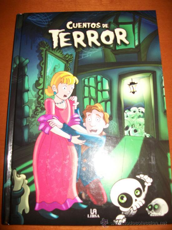 CUENTOS DE TERROR - 130 PAGINAS - ILUSTRACIONES A TODO COLOR - NUEVO - TAPA DURA ACOLCHADA (Libros de Segunda Mano - Literatura Infantil y Juvenil - Cuentos)