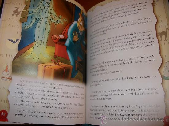 Libros de segunda mano: CUENTOS DE TERROR - 130 PAGINAS - ILUSTRACIONES A TODO COLOR - NUEVO - TAPA DURA ACOLCHADA - Foto 2 - 30385485