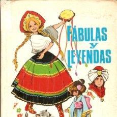 Libros de segunda mano: FABULAS Y LEYENDAS - Nº 12 - MARIA PASCUAL - EDICIONES TORAY - 1971. Lote 30394957