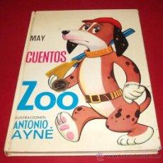 Libros de segunda mano: CUENTOS ZOO, AYNÉ, ED. TORAY, 1969. Lote 32028874