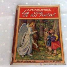 Libros de segunda mano: AÑO 1941.- RAMON SOPENA.-BIBLIOTECA PARA NIÑOS. LA VOZ DE LOS NIÑOS. . Lote 30989539