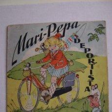 Libros de segunda mano: MARI PEPA DEPORTISTA. Lote 30993075