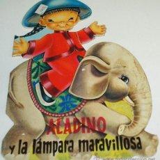 Libros de segunda mano: ALADINO Y LA LAMPARA MARAVILLOSA. -TROQUELADO- LOPEZ ESPI - ANTIGUO- IMPORTANTE LEER. Lote 31094315
